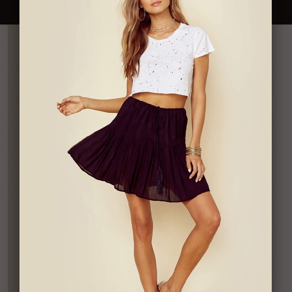 26343b192 Indah Skirts | Pleated Black Mini Skirt New With Tags | Poshmark